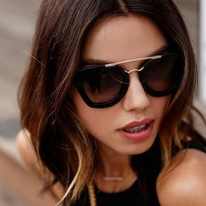 Prada Cinema Sunglasses in Black
